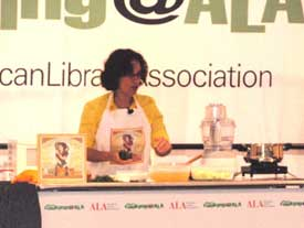 Susanna demonstrates how to make Julia Child's recipe for Cream of Cucumber Soup