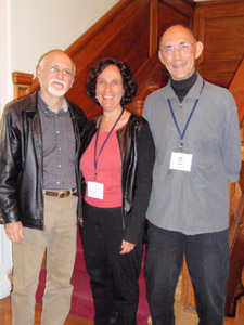 With fellow authors Gary Golio (left) and Ed Young