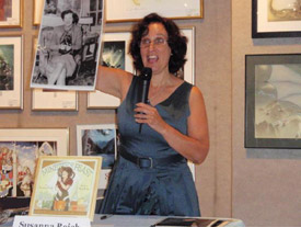 Susanna Reich at Books of Wonder