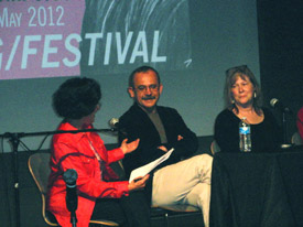 Susanna, Polish journalist Wojciech Jagielski and YA novelist Debby Dahl Edwardson, a National Book Award finalist for My Name Is Not Easy, about teens whose native languages were suppressed at boarding school in Alaska