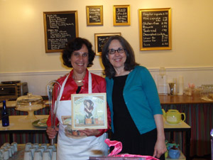 Celebrating Children's Book Week and the launch of Minette's Feast with Francine Lucidon, owner of The Voracious Reader