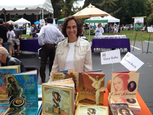 Susanna at the Chappaqua Children's Book Festival