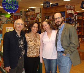 Susanna and fellow children's book authors Gary Golio, Jennifer Ziegler and Chris Barton signed stock at Austin's fantastic indie bookstore, Bookpeople
