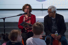 Reading Jose! Born to Dance, with illustrator Ra�l Col�n