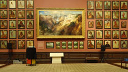 Catlin and Moran Paintings in the Renwick Grand Salon