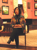 Speaking at the Smithsonian American Art Museum's Renwick Gallery