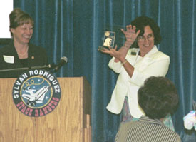 Susanna Reich receives the 2005 Tomas Rivera Award