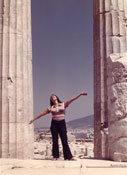 Susanna Reich at the Parthenon